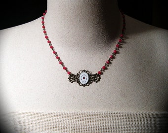 Watch Necklace, Steampunk Necklace
