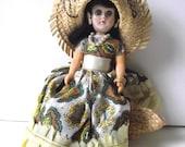 Puerto Rican Doll Vintage Puerto Rico Souvenir