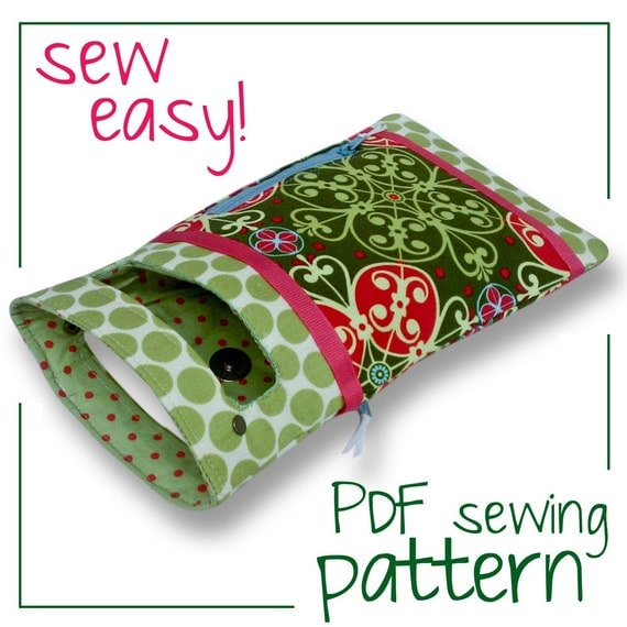 Companion Clutch ((PDF Sewing Pattern))