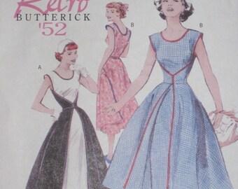 Wrap Dress Butterick 4790 1950s Retro Reprint  Sewing Pattern Size 8, 10, 12 ,14 Walk away Bust 31.5 32.5 34 36