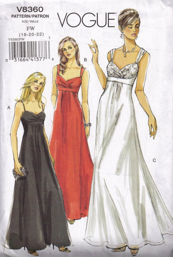 Plus size prom dress patterns car interior design for Wedding dress patterns plus size