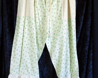 Bloomers - Wearin' of the Green - green heart ivy - size large