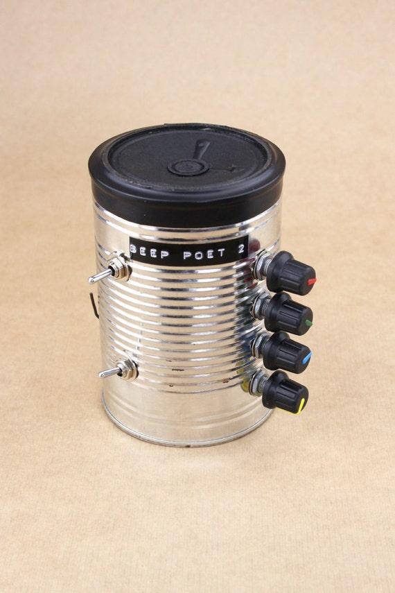 Beep Poet 2 - Lofi Electronic Noise Maker In A Can