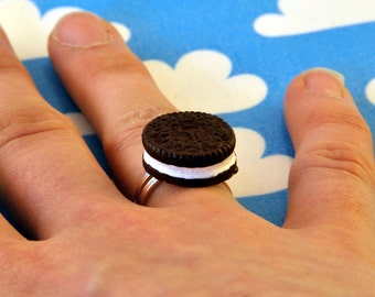 Oreo Ring Adjustable Cookie Biscuit