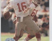 Official NFL 1991 Pro Set Platinum Football Card  for JOE MONTANA
