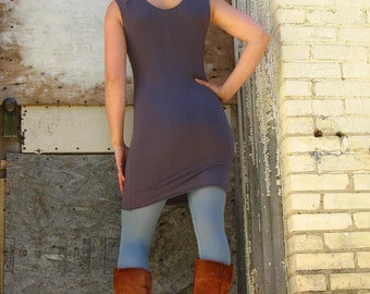 Tank Tunic Dress (Soy or Bamboo Organic Cotton)