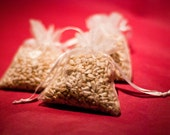 250 Wedding Favor Bird Seed Bags, Your Choice of Colors