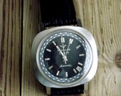 Vintage Wittnauer Wrist Watch Men or Women Working by avintageobsession on etsy