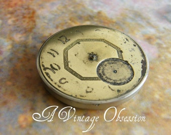 Vintage Pocket Watch for Steampunk Supplies by avintageobsession on etsy