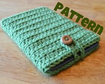 Crochet Pattern - Ebook, Tablet Sleeve