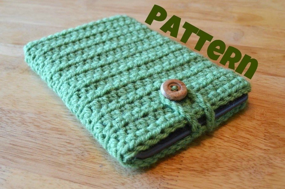 How to make a bow how to instructions - Crochet Pattern Ebook Tablet Sleeve