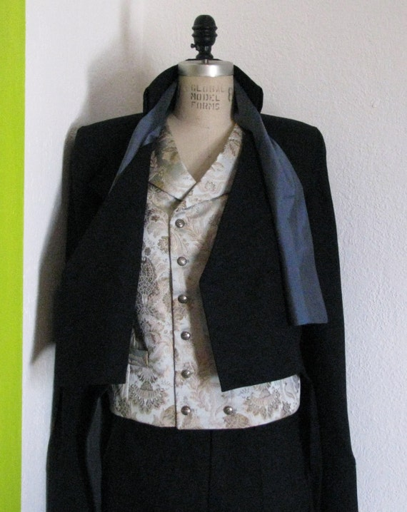 Steampunk Tuxedo with Tailcoat, Pant, Vest, and Cravat