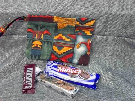 Reusable Snack Bag, Southwestern Travels Print