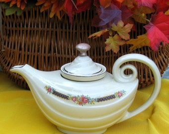 Aladdin Teapot Hall  Blue Bouquet  75% 0ff Sale