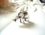 Little Elephant Charm Necklace