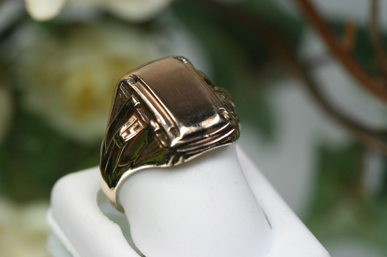 Vintage 10k and Sterling 1936 Class Ring