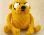 Jake the Dog Amigurumi Pattern PDF