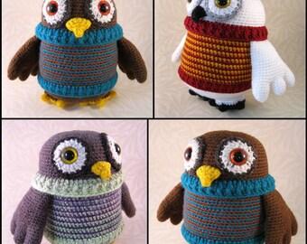 Flappy Owl Amigurumi Pattern PDF - Crochet Pattern