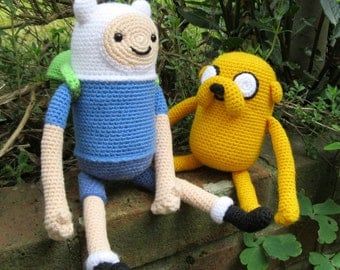 Finn and Jake Amigurumi Pattern PDFs - Crochet Patterns