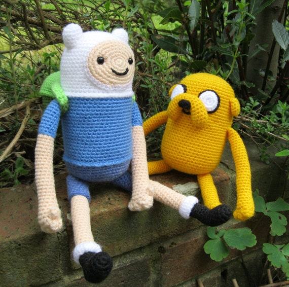 Adventure Time Jake Amigurumi Pattern : Finn and Jake Amigurumi Pattern PDFs