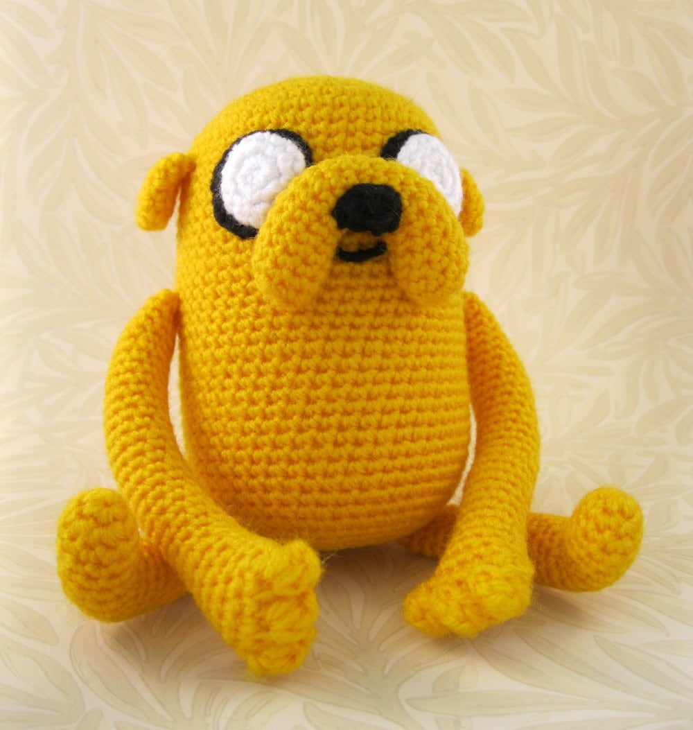 Amigurumi Askina Etsy : PDF of Jake the Dog Amigurumi Pattern by lucyravenscar on Etsy