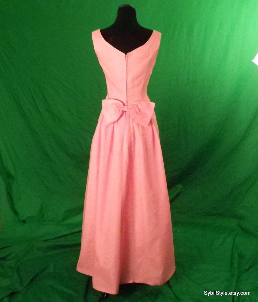 1960s prom dress evening gown by sybilstyle on etsy