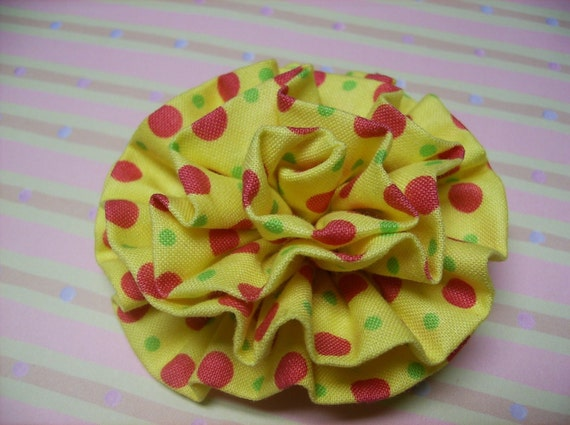 Fabric Rosette PDF Tutorial Learn 2 Rosettes in 1 Tutorial ... Super Easy