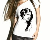 Rebel Princess -  Womens Star Wars Tee - Size XS - 3XL