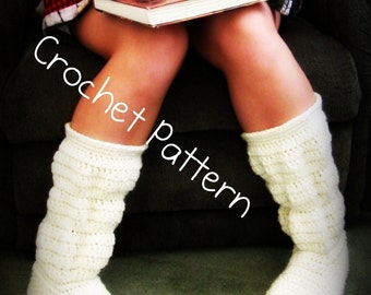 Crochet pattern- hollydoll cozy boots- the original and best-Womens US sizes 5,6,7,8,9,10