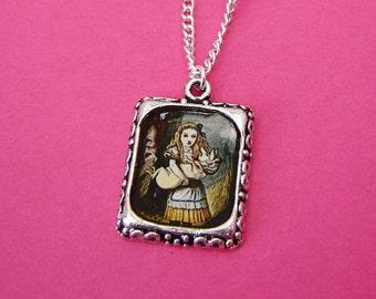 Alice in Wonderland Charm Necklace - 'Baby Pig'