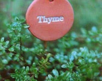 11 Round Earthmarks Herb Garden Markers