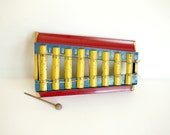 Vintage Toy Xylophone Metal