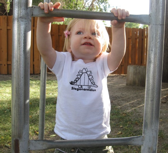 Stegonormalus Toddler T-Shirt or Baby Bodysuit