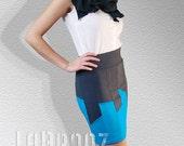 Skirt Bottoms Skirts Skirt Evening Light City Skyline Skirt