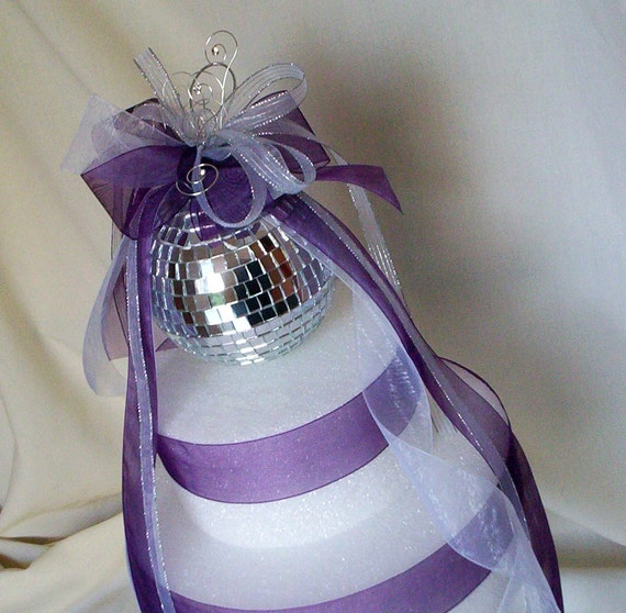 New Years eve Weddings mirror Disco ball Decor Wedding Cake