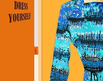 Dress Yourself -- Feminist Art, Poster