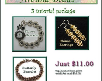 3 Tutorials Chain Maille Package