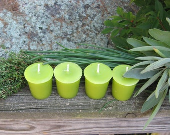 HERB GARDEN (4 votives or 4-oz soy jar candle)