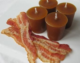 BACON (4 votives or 4-oz soy jar candle)