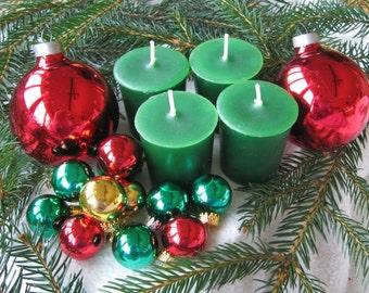 FRASER FIR (4 votives or 4-oz soy jar candle)