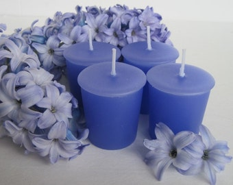 HYACINTH (4 votives or 4-oz soy jar candle)
