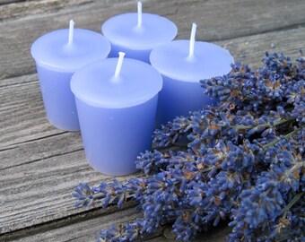 LAVENDER  (4 votives or 4oz soy jar candle)