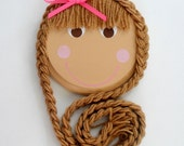 Rapunzel Hair Bow Organizer Holder