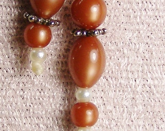 Lbee's Beaded Handmade Thong Bookmark  rooster