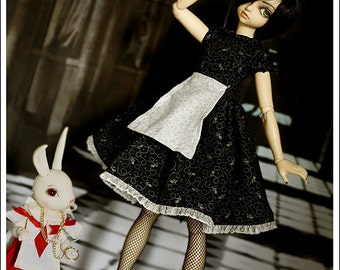 Black Alice 42cm bjd pattern collection