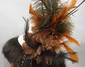 Ivory Mini Top Hat Fascinator Kentucky Derby or Wedding Hat