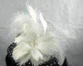 Polka-Dot Mini Top Hat Kentucky Derby Wedding Hat