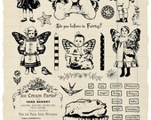 Fairy Sweets Rubber Stamp Collection
