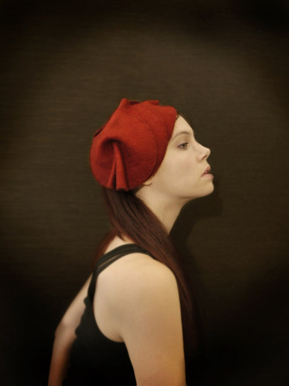 25% Off! Red Felt Hat - The Protection Series