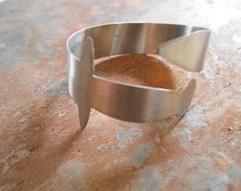 Stainless Steel Cuff Sword Bracelet